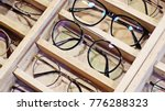 glasses displayed on the market | Shutterstock . vector #776288323