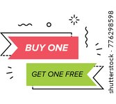 a sales offer for customers in ... | Shutterstock .eps vector #776298598