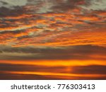 a beautiful sky and sunset | Shutterstock . vector #776303413