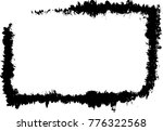 grunge frame texture   abstract ... | Shutterstock .eps vector #776322568