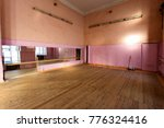 interior of old abandoned gym... | Shutterstock . vector #776324416