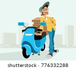 vector illustration of a... | Shutterstock .eps vector #776332288