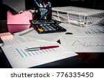 business finance  accounting ... | Shutterstock . vector #776335450