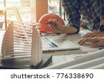 concept architects engineer...   Shutterstock . vector #776338690