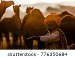 Unidentified Camel Traders Wit...