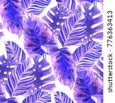 watercolor seamless pattern...   Shutterstock . vector #776363413