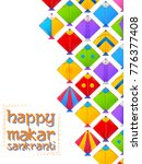illustration of happy makar... | Shutterstock .eps vector #776377408