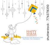 illustration of happy makar... | Shutterstock .eps vector #776378350