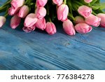tongue fresh tulips usually... | Shutterstock . vector #776384278