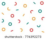 geometric abstract background... | Shutterstock .eps vector #776392273