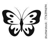 butterfly in wildlife icon.... | Shutterstock .eps vector #776394694
