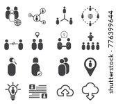 social icon vector design | Shutterstock .eps vector #776399644
