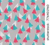 christmas pattern. vector... | Shutterstock .eps vector #776401960