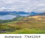 view from the top of conic hill ... | Shutterstock . vector #776412319