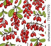 vector seamless pattern with... | Shutterstock .eps vector #776417770