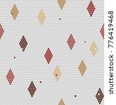 african beadwork themes.... | Shutterstock .eps vector #776419468