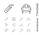 construction equipment icons...