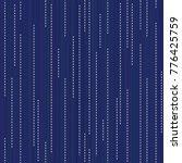 sashiko. abstract seamless... | Shutterstock .eps vector #776425759