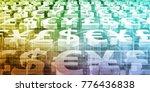 stock market analysis and... | Shutterstock . vector #776436838