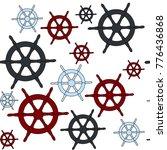 captain pattern vector | Shutterstock .eps vector #776436868
