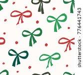 christmas seamless repeat...   Shutterstock .eps vector #776441743