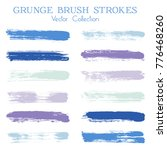 watercolor  ink or paint brush... | Shutterstock .eps vector #776468260