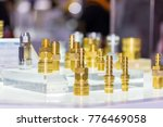close up high tech many kind of ... | Shutterstock . vector #776469058