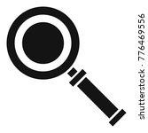 cursor magnifier icon. simple... | Shutterstock .eps vector #776469556