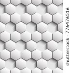 volumetric seamless pattern of... | Shutterstock .eps vector #776476516