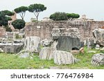 ruins  stones and architecture... | Shutterstock . vector #776476984