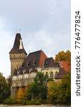 vajdahunyad castle is a castle... | Shutterstock . vector #776477824