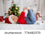 portrait of newborn baby in... | Shutterstock . vector #776482570
