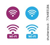 wireless and wifi icons....   Shutterstock .eps vector #776485186