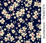 cute floral pattern in the... | Shutterstock .eps vector #776487274
