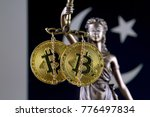symbol of law and justice ... | Shutterstock . vector #776497834