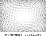 abstract halftone wave dotted... | Shutterstock .eps vector #776511058