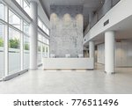 modern business hall... | Shutterstock . vector #776511496