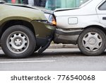 car crash accident on street ... | Shutterstock . vector #776540068