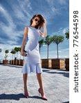 beautiful sexy  successful... | Shutterstock . vector #776544598