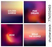 abstract vector dark pink... | Shutterstock .eps vector #776553403