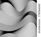 abstract wavy vector background.... | Shutterstock .eps vector #776566060