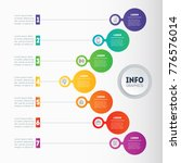 infographic template. education ...   Shutterstock .eps vector #776576014