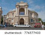 odessa  ukraine   august 1 2013 ... | Shutterstock . vector #776577433