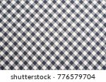 background of cotton fabric  | Shutterstock . vector #776579704