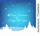 christmas and new year greeting ... | Shutterstock .eps vector #776600614