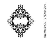 vintage vector  baroque frame... | Shutterstock .eps vector #776601904