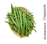 Green Beans With Leaves On...