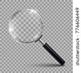 magnifying glass   vector | Shutterstock .eps vector #776606449