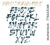 handwritten lettering vector... | Shutterstock .eps vector #776623168
