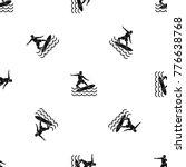 surfer man pattern repeat...